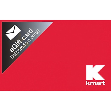 Kmart Gift Card, $50 (Email Delivery)