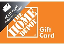 The Home Depot Gift Card, $50 (Email Delivery)