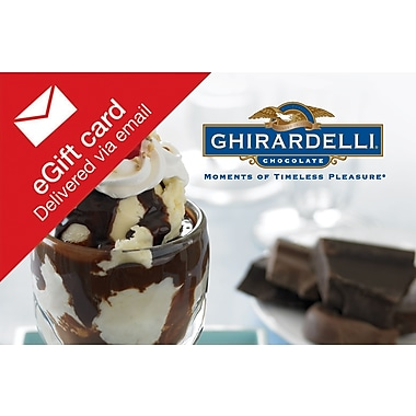 Ghirardelli Gift Card, $50 (Email Delivery)