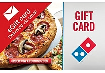 Domino's® Gift Card, $25 (Email Delivery)