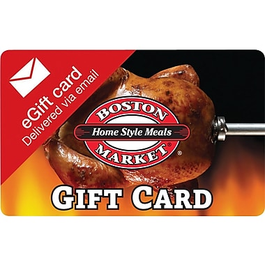 Boston Market Gift Card, $25 (Email Delivery)