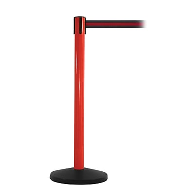 SafetyMaster 450 Red Retractable Belt Barrier with 8.5' Black/Red Belt