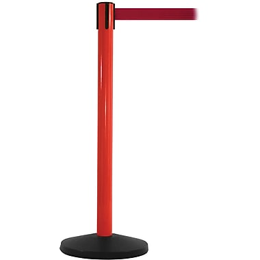 SafetyMaster 450 Red Retractable Belt Barrier with 8.5' Red Belt