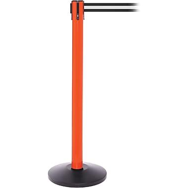 SafetyPro 250 Orange Retractable Belt Barrier with 11' Black/White Belt