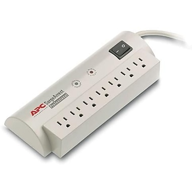 APC® SurgeArrest PRO7 7-Outlet 1680 Joule Surge Suppressor With 6' Cord