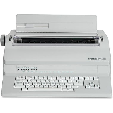 Brother® EM-530 Portable Electronic Typewriter