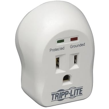 Tripp Lite Spikecube® Series 1-Outlet 600 Joule Surge Suppressor