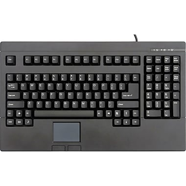 Solidtek® KB-730BU USB Full Size POS Keyboard With Touchpad Mouse