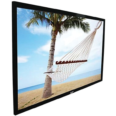 Elite Screens™ ezFrame Series 100in. Wall Mount Projector Screen, 16:9, Black Aluminum Casing