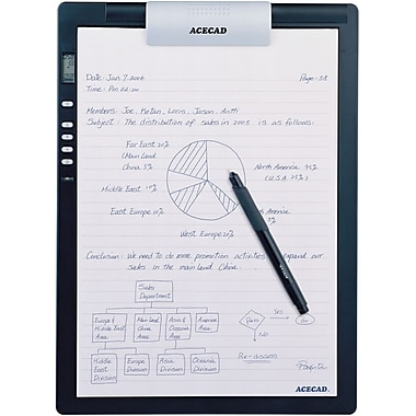Solidtek® Acecad DigiMemo L2 Digital Notepad