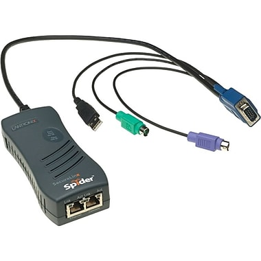 Lantronix® SLS200PS20-01 KVM Over IP Switch, 1 Ports