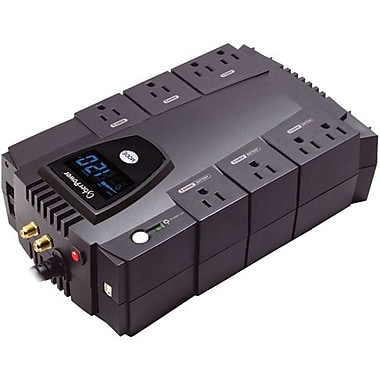 Cyberpower® Intelligent LCD Series Line Interactive 825 VA UPS