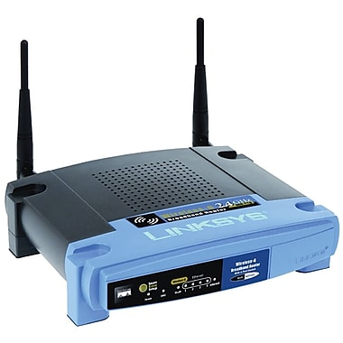Cisco® Linksys R10000G Wireless-G Broadband Router, 2.4GHz