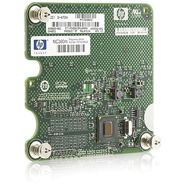 HP® NC360M Gigabit Ethernet Adapter, 2 Port