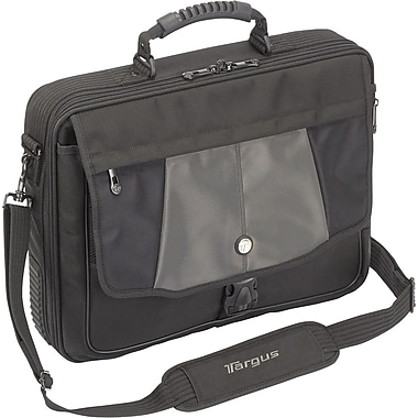 Targus® Platinum Blacktop CPT301US 17in. Standard Laptop Case, Black/Gray