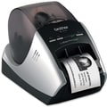 Brother® QL-570 300 x 600 dpi Professional Label Printer, 8.2in.(H) x 5.6in.(W) x 5.2in.(D)