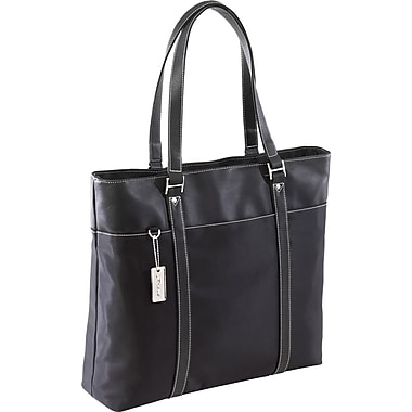 Targus® TLT004A 15.4in. Ladies Deluxe Tote With SafePort Air Protection Cushioning, Black