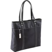 "Targus® TLT004A 15.4"" Ladies Deluxe Tote With SafePort Air Protection Cushioning, Black"