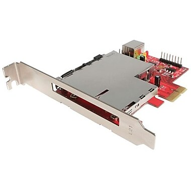 Startech.Com® PEX2ECDP PCI Express Standard Profile Adapter Card