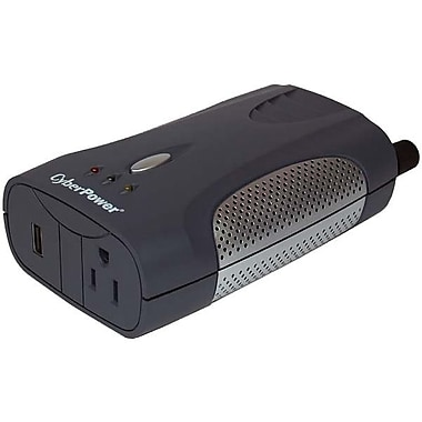 Cyberpower® 200 W Mobile Power Inverter, 12 VDC Input, 120 VAC Output, 1 Outlet