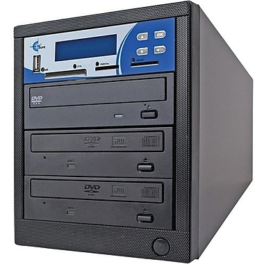 EZ Dupe MM02PIB 2 Target 1:2 CD/DVD Duplicator, USB Interface