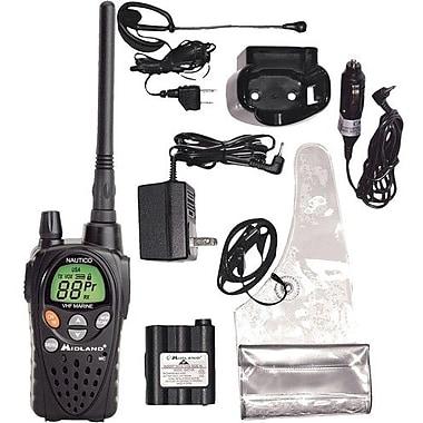 Midland Radio® Nautico 3 Two-Way Marine Radio, Up to 18 Miles, 5 W