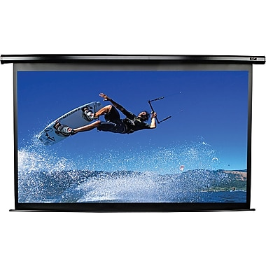 Elite Screens™ VMAX Plus2 Series 135in. Electric Wall and Ceiling Projector Screen, 4:3, Black Casing