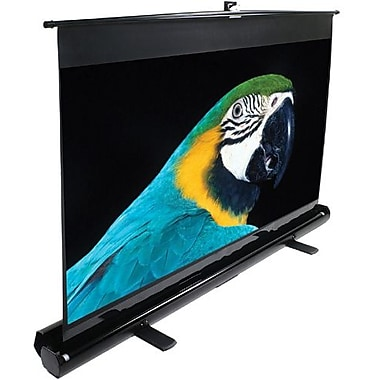 Elite Screens™ ezCinema Series 120in. Manual Pull Up Projector Screen, 4:3, Black Aluminum Casing