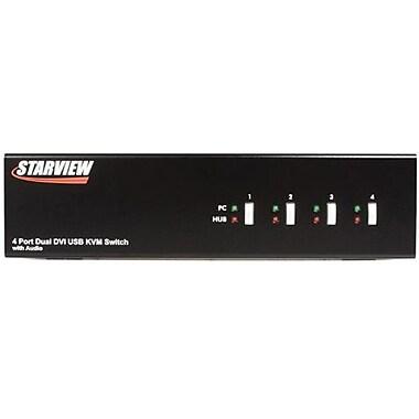 Startech.com® SV431DVIDDU USB/DVI KVM Switch, 4 Ports