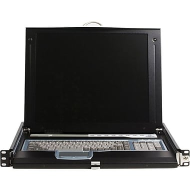 StarTech CABCONS1716I Rack Mount LCD Console With 16 Port IP KVM Switch