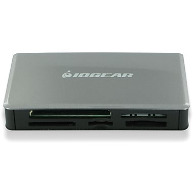 Iogear® GFR281 56-in-1 Memory Card Reader/Writer