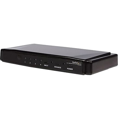 Startech.com® VS410 4-to-1 HDMI Video Switch With Remote Control