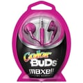 Maxell® 190540 Earphone, Pink