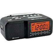Midland Radio® WR11 Alarm Clock Weather Alert Radio