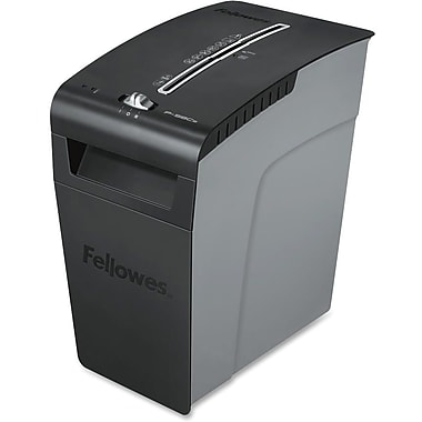 Fellowes® Powershred® P-58Cs Cross-Cut Shredder, 9 Sheets