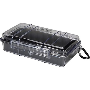 Pelican™ 1060 Micro Case For Traveling Essentials, Clear/Black