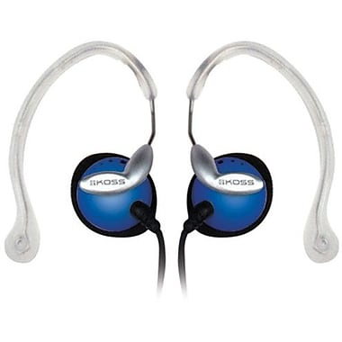 Koss® CLIPPER Ear Clip Headphone, Blue