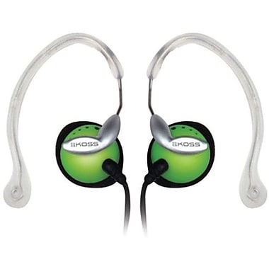 Koss® CLIPPER Ear Clip Headphone, Green