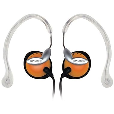 Koss® CLIPPER Ear Clip Headphone, Orange