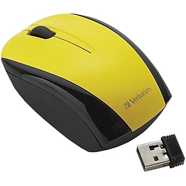 Verbatim® 96900 Wireless Nano Notebook Optical Mouse