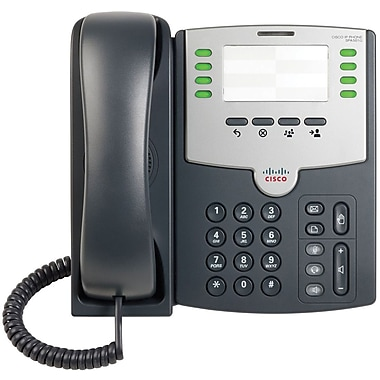 Cisco® SPA501G 8-Line IP Phone With 2-Port Switch
