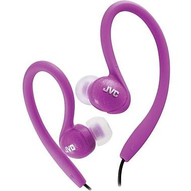 JVC HAEBX85 Sports In-Ear Clip Headphone, Violet