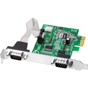 Siig® JJ-E10D11-S3 2 Port Serial Adapter Card
