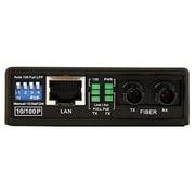 Startech.Com® MCM110ST2P Multi Mode Fiber to Ethernet Media Converter