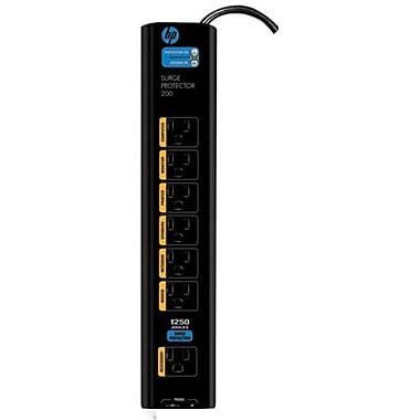 HP Monster® PowerCenter™ MDP 200 ES 7-Outlet 1250 Joule Surge Protector With 6' Cord