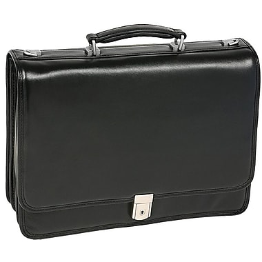 McKlein® River North I Series 43555 Triple Compartment Briefcase For 17in. Laptop