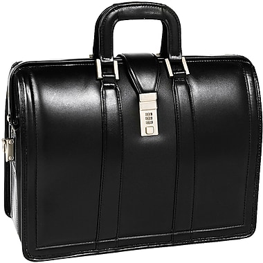 McKlein® Morgan V Series Litigator Briefcase For 17in. Laptop, Black