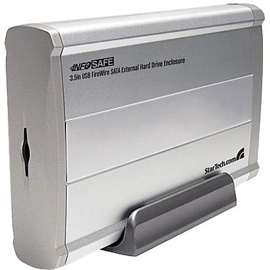 Startech.Com® SAT3510U2F 3 1/2in. SATA External Hard Drive Enclosure