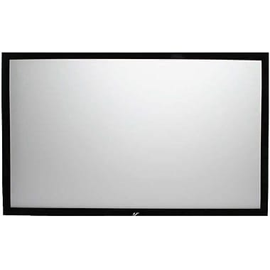 Elite Screens™ SableFrame Series 110in. Wall Mount Projector Screen, 16:9, Black Aluminum Casing