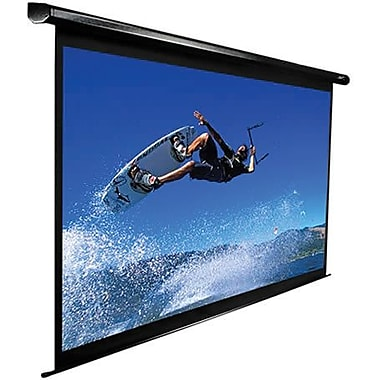 Elite Screens™ VMAX2 Series 106in. Electric Wall and Ceiling Projector Screen, 16:10, 24in. Black Casing